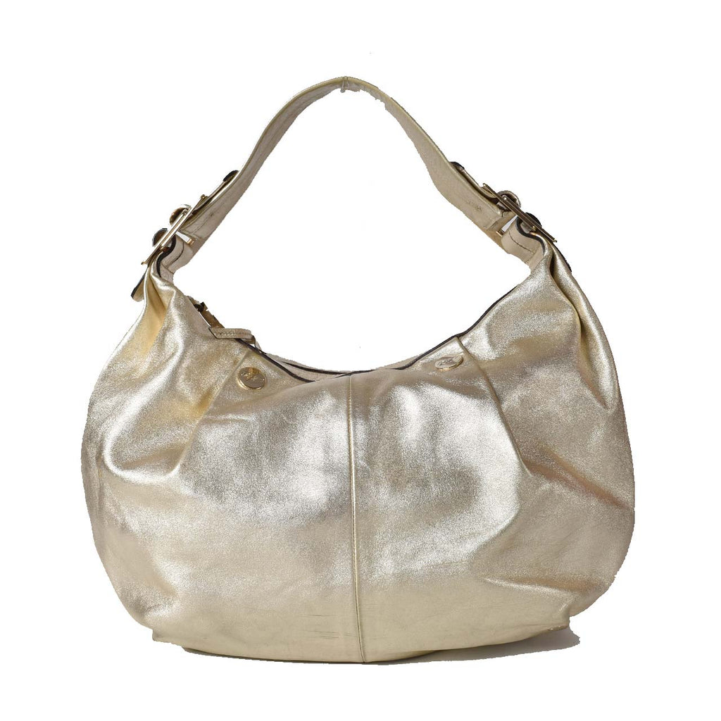 Roger Vivier Gold Hobo Bag