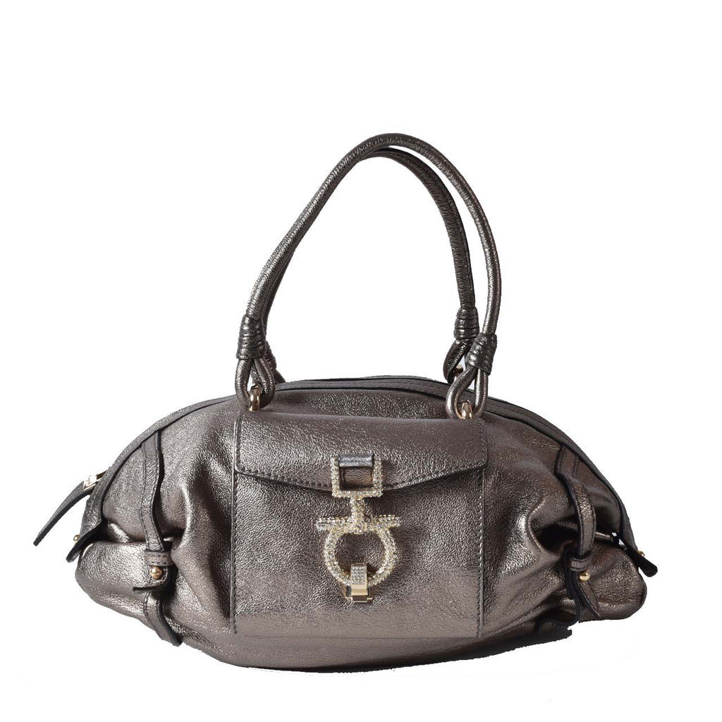 Salvatore Ferragamo Mini Metallic Bag BK-21 5433