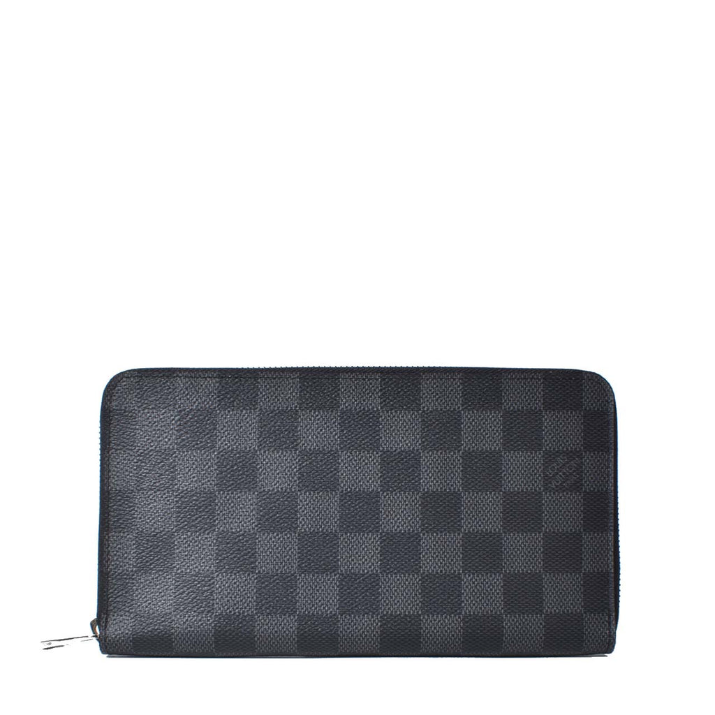Louis Vuitton N63077 Zippy Organizer Damier Graphite