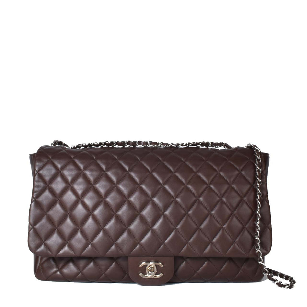 Chanel Oversize Flap in Brown SHW