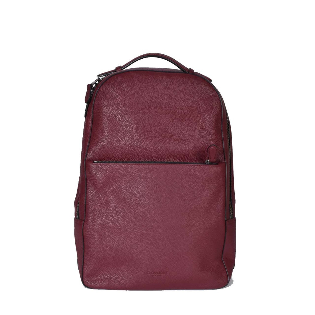 Coach Metropolitan Soft Burgundy Backpack
