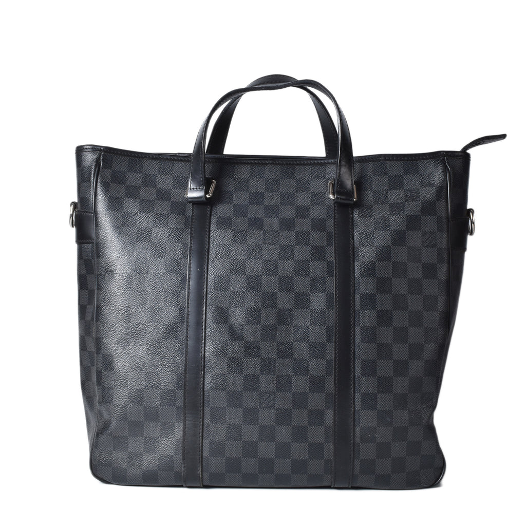 Louis Vuitton Anton Damier Graphite Briefcase Grey Canvas Satchel