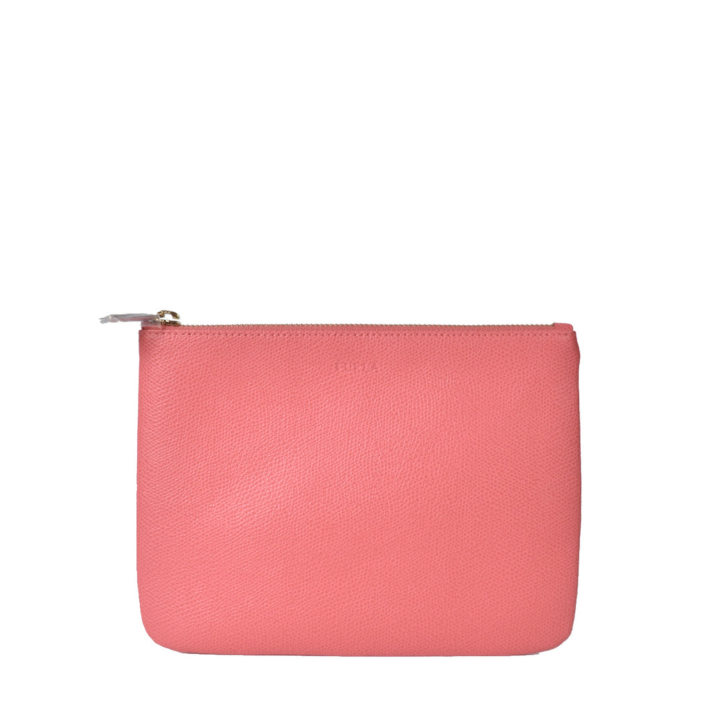Furla Coral Pink Pouch
