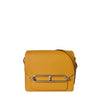 Hermes Mini Roulis 18 Bag Evercolour in Jaune Ambre SHW