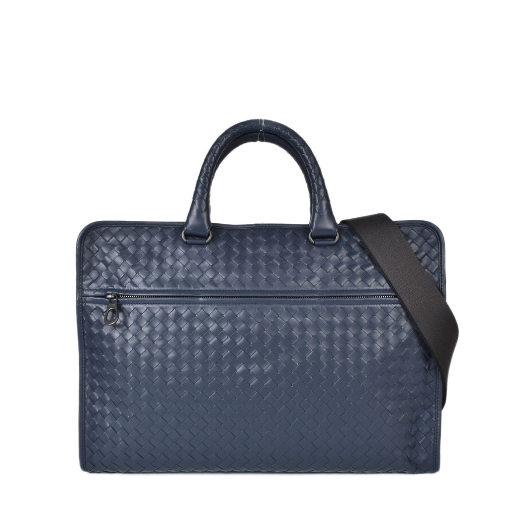 Bottega Veneta Pacific Intrecciato Calf Briefcase