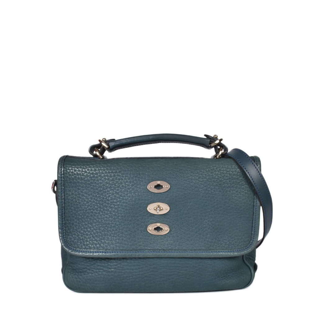 Mulberry Green Grain Leather Bryn Bag