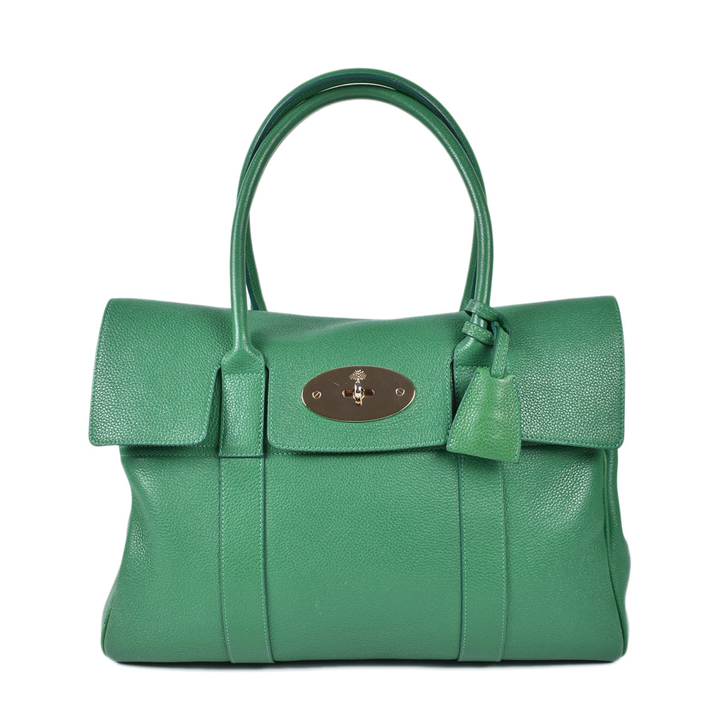 Mulberry Green Heavy Grain Large Bayswater