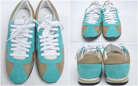 Suede Turquoise Sneakers