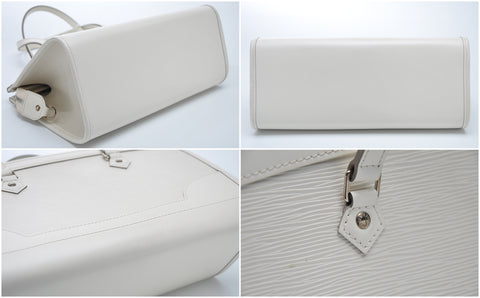 Madeleine Pm Ivory Epi Leather Shoulder Bag