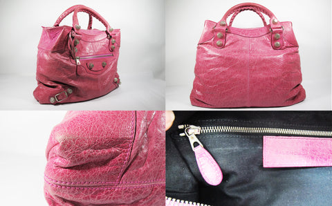 Giant 21 Day Bag in Pink SHW