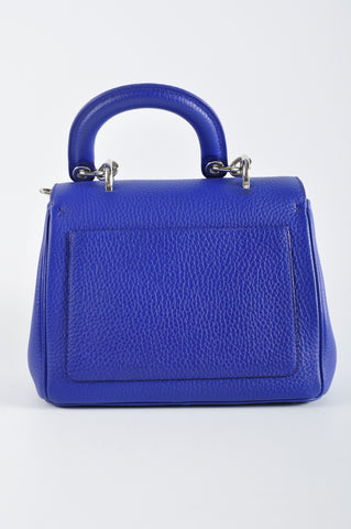 Christian Dior Be Dior Flap Small Flap Bag Electric Blue - Glampot