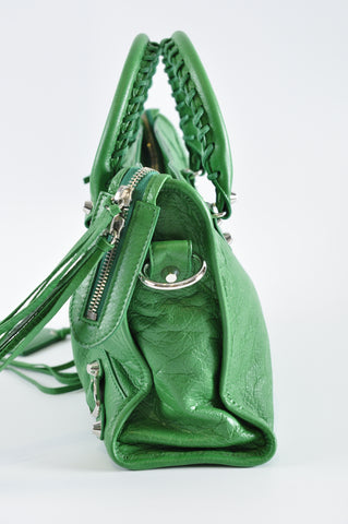 Balenciaga Small City in Green 431621 3708 B 568024 - Glampot