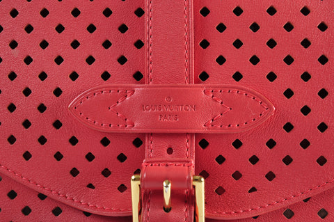 Louis Vuitton Sofia Coppola Cruise Limited Edition Saumur Messenger Bag in Corail RS4141