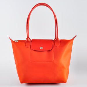 Longchamp Le Pliage Neo Tote Bag L in Orange