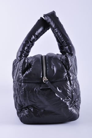 Chanel A48619 Coco Cocoon  Nylon Medium Tote Bag Black 14832134 - Glampot