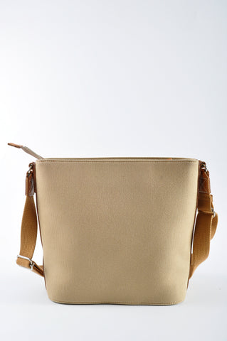 Burberry Blue Label Brown Canvas Sling Bag – Glampot 6c2ffd03ff221
