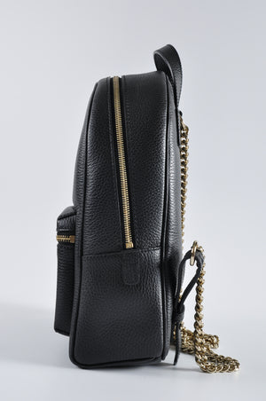 Gucci 431570 Soho Leather Chain Backpack