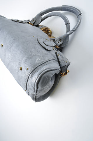 Chloé Paddington Bag in Grey - Glampot