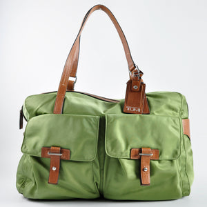 Tumi Nylon Travel Satchel in Jungle