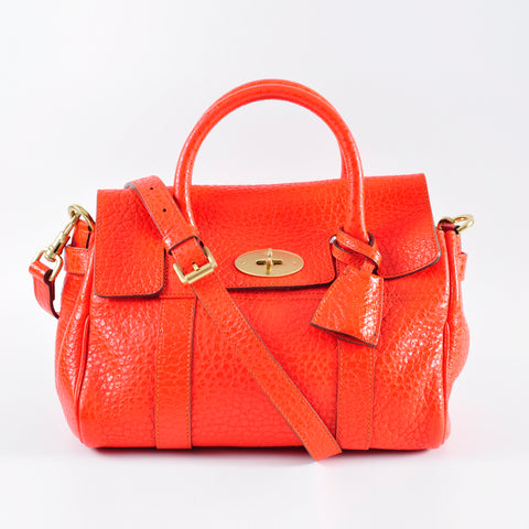 Mulberry Classic 168609 Bayswater Orange Bag