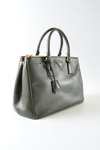 118af3ddd07a Militare Saffiano Lux Leather Double Zip Medium Tote Bag BN2274 ...