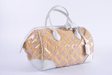 Louis Vuitton M40703 Speedy Round Handbag Monogram Bouclettes TR0172
