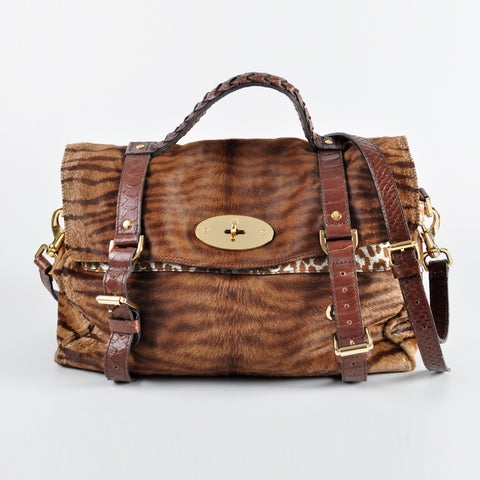 Mulberry Alexa Haircalf Brown 5122705