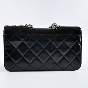 Chanel Black Medium Perfect Edge