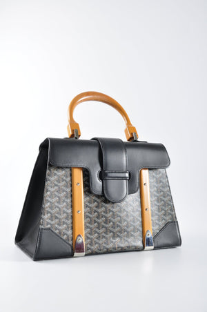 Goyard Saigon MM in Black