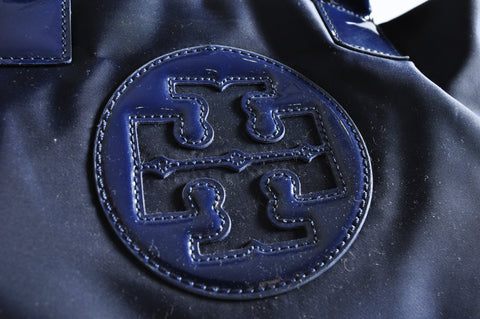 Tory Burch Nylon Mini Ella Tote in Navy