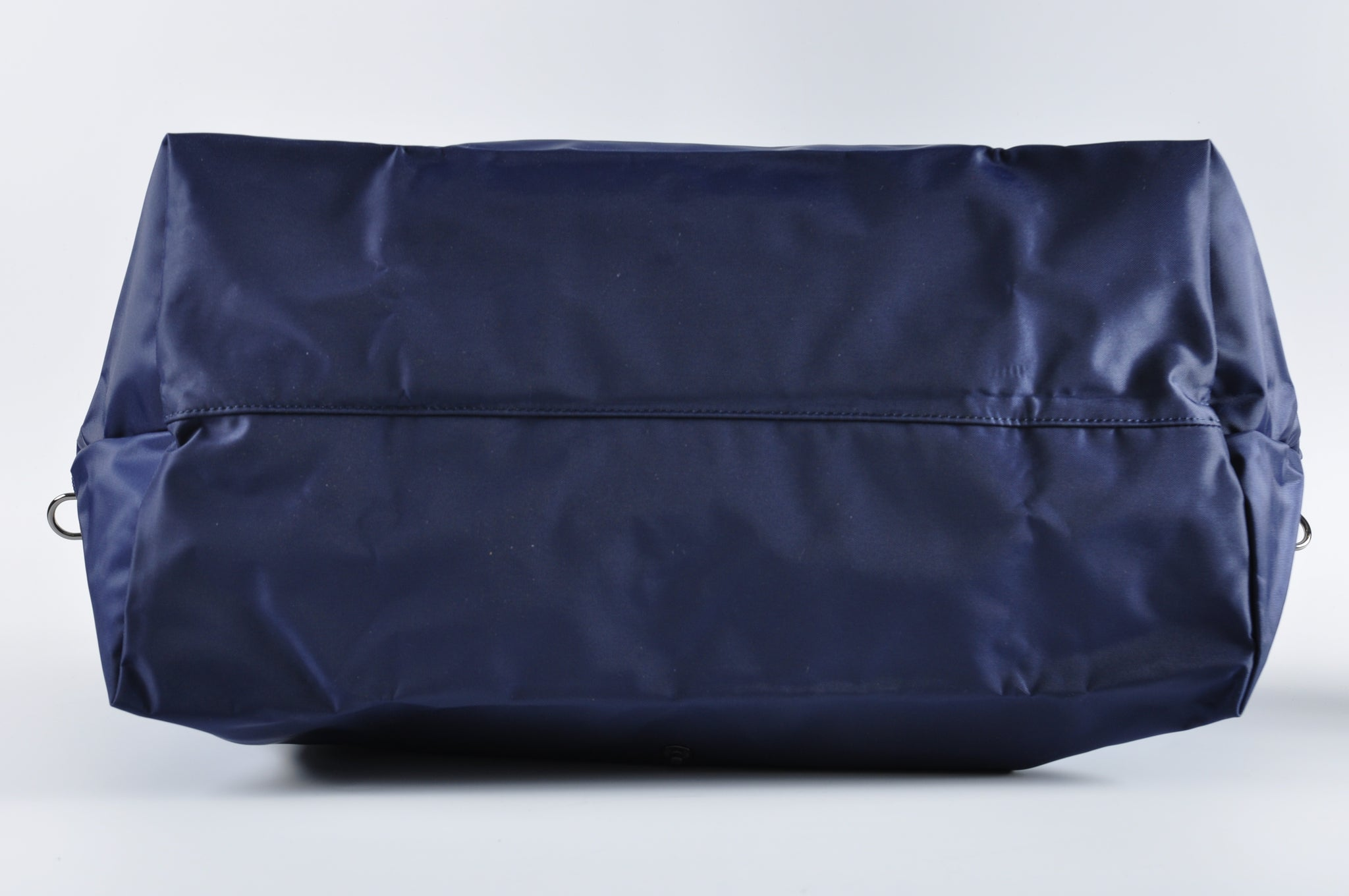 Longchamp Le Pliage Expandable Travel Duffel Weekender in Navy