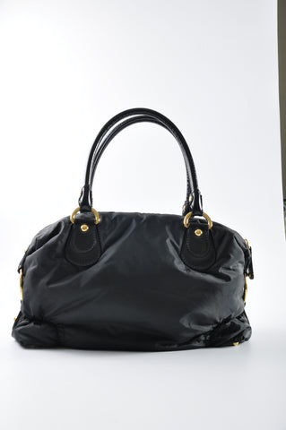 Tod's Nylon Bag GHW in Black
