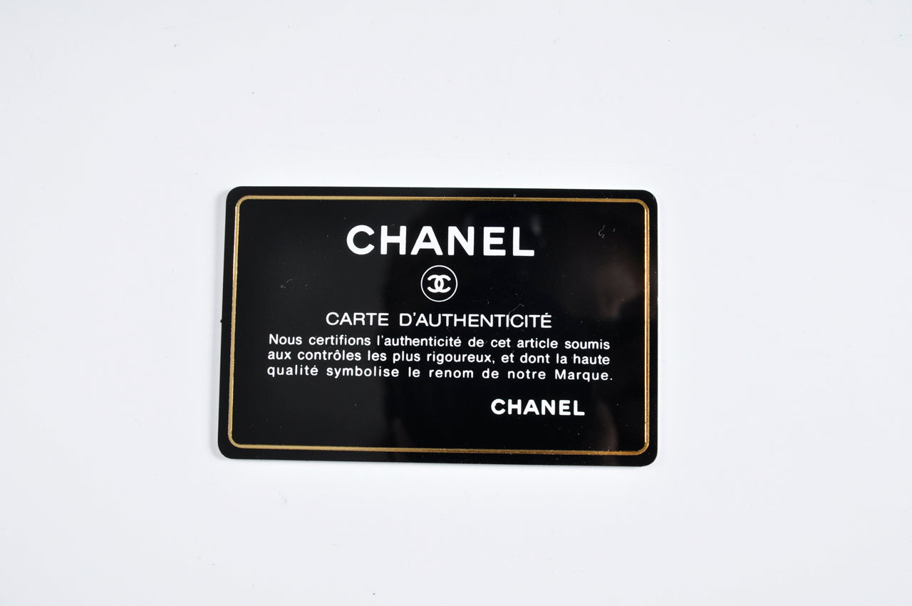 Chanel PST Caviar Black GHW - Glampot