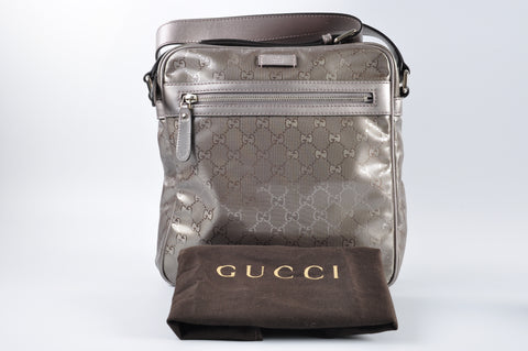Gucci GG Imprime Coated Canvas Medium Shoulder Bag 201448