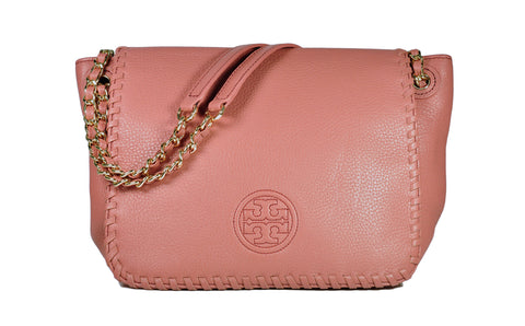 Tory Burch Marion Small Flap Shoulder Bag in Maple Sugar a0a67c873bf70
