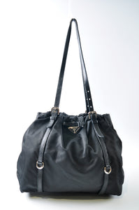 Prada Nylon Black Tote Bag
