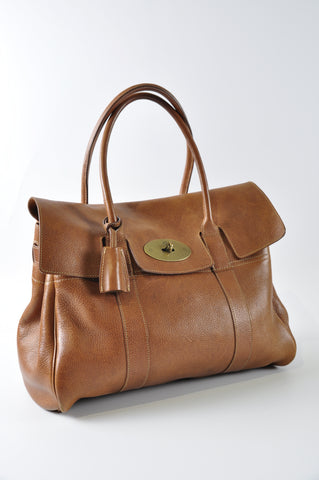 Mulberry Bayswater Natural Veg Tanned