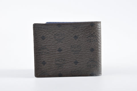 MCM Men's Bifold Wallet in Dark Brown