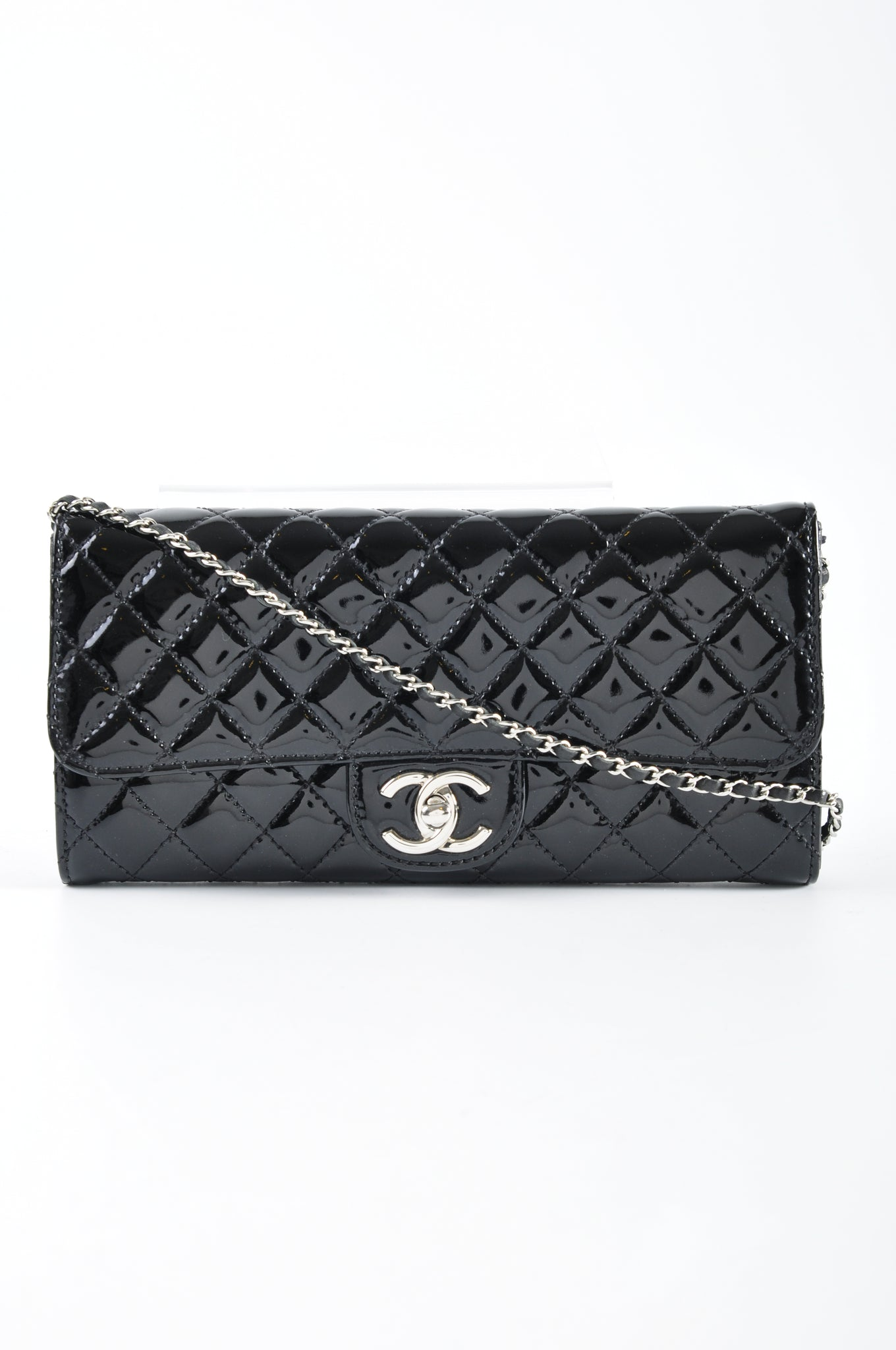 Chanel Black Patent Leather WOC 14277095 - Glampot