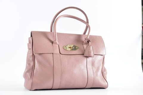 a11eb3dc6b6e Mulberry Bayswater Glossy Goat in Dark Blush – Glampot