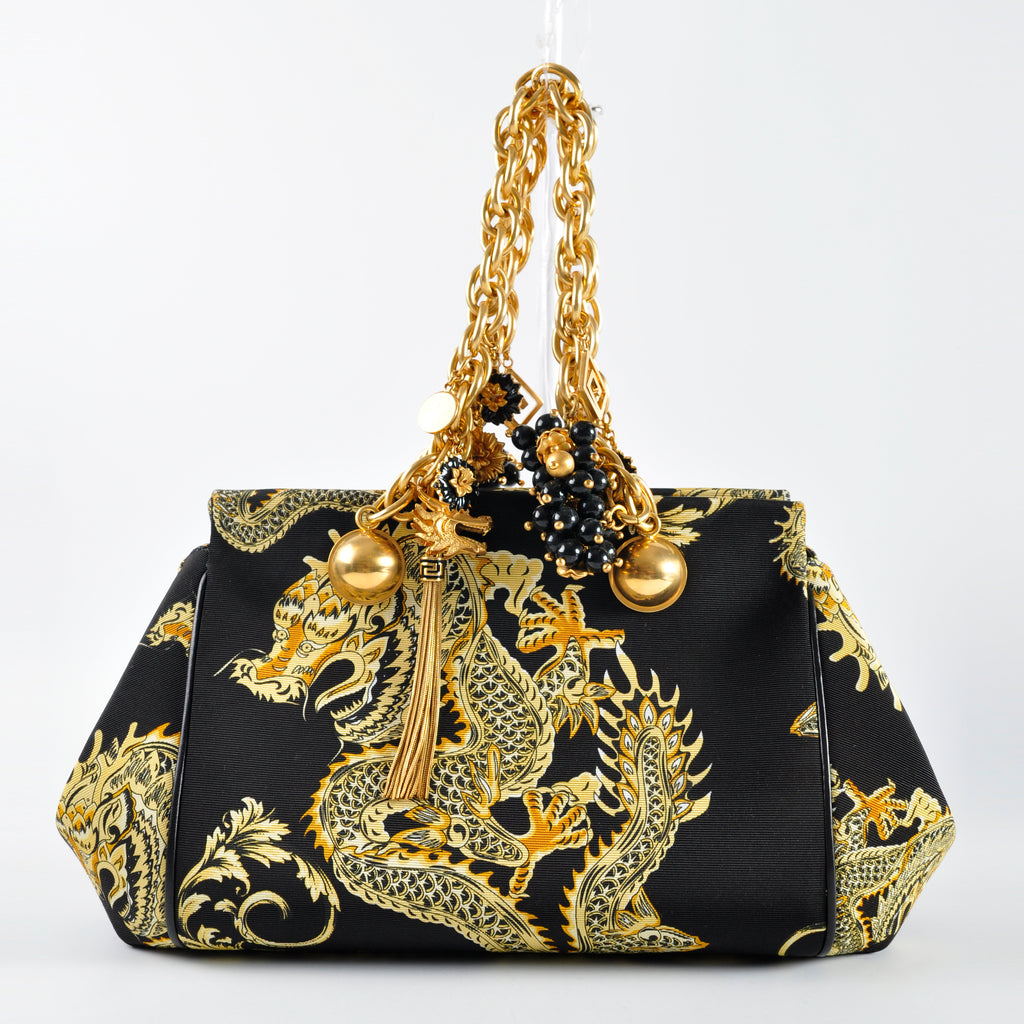 Versace Year of The Dragon Jewel Handbag 2012 Limited Edition