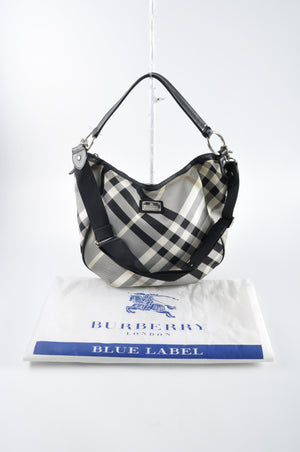 Burberry Blue Label 2-Way Hobo Bag - Glampot