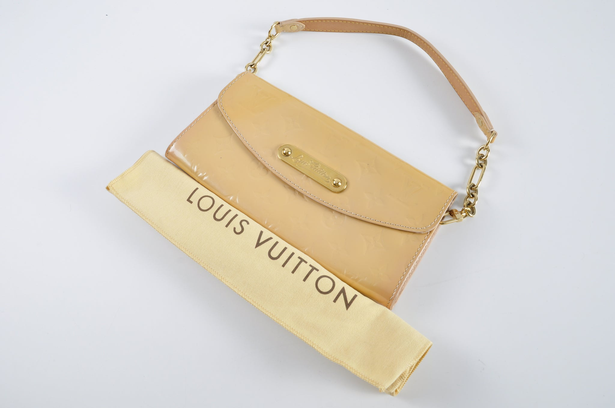 Louis Vuitton M91626 Sunset Boulevard Vernis Rose Florenti TH4019