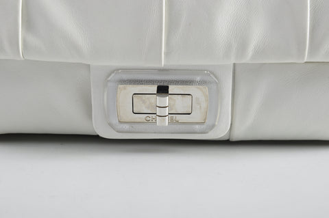 Chanel Seasonal White Reissue Flap 14070440 - Glampot
