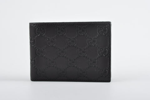 Gucci 292534 BNJ10 2044 Guccissima Men Wallet in Dark Brown