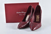 Salvatore Ferragamo Funny Red Opera Nappa Calf Leather Pumps