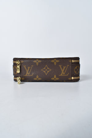 Louis Vuitton Monogram Canvas Trousse Blush PM Cosmetic Case