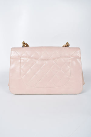 Chanel Straight Line Flap Calfsin Bag Pre-Fall 2017 in Light Pink GHW