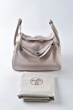 Hermes Swift Lindy 30 in Rose Dragee Stamp K