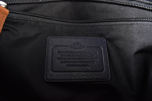 Coach Black Hawaiian Canvas Messenger Bag